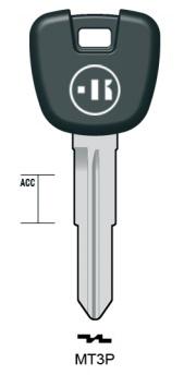 プラスチックヘッドキー MT3P