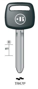 プラスチックヘッドキー TR47P