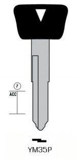 プラスチックヘッドキー YM35P
