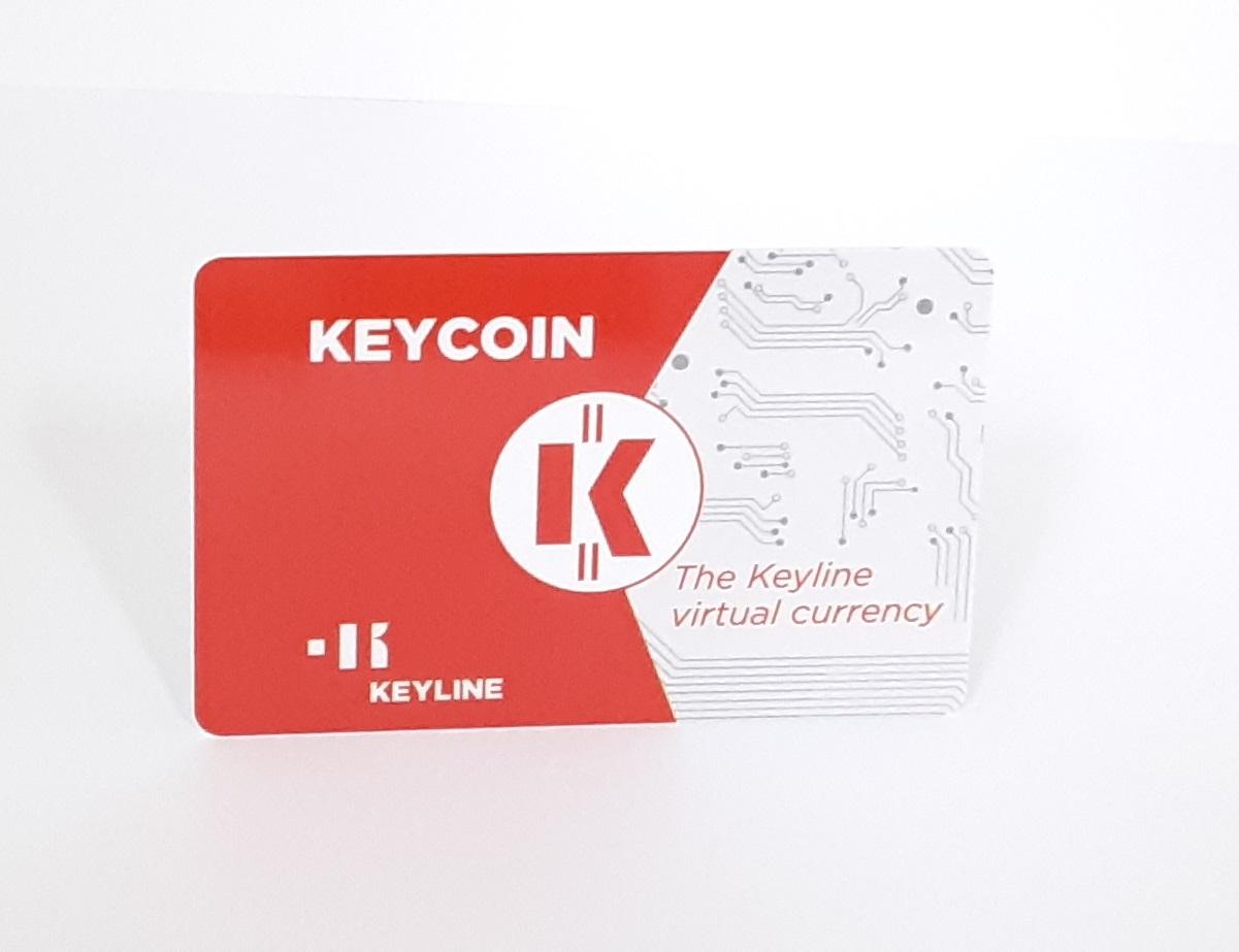 KEYCOIN 150   CARD